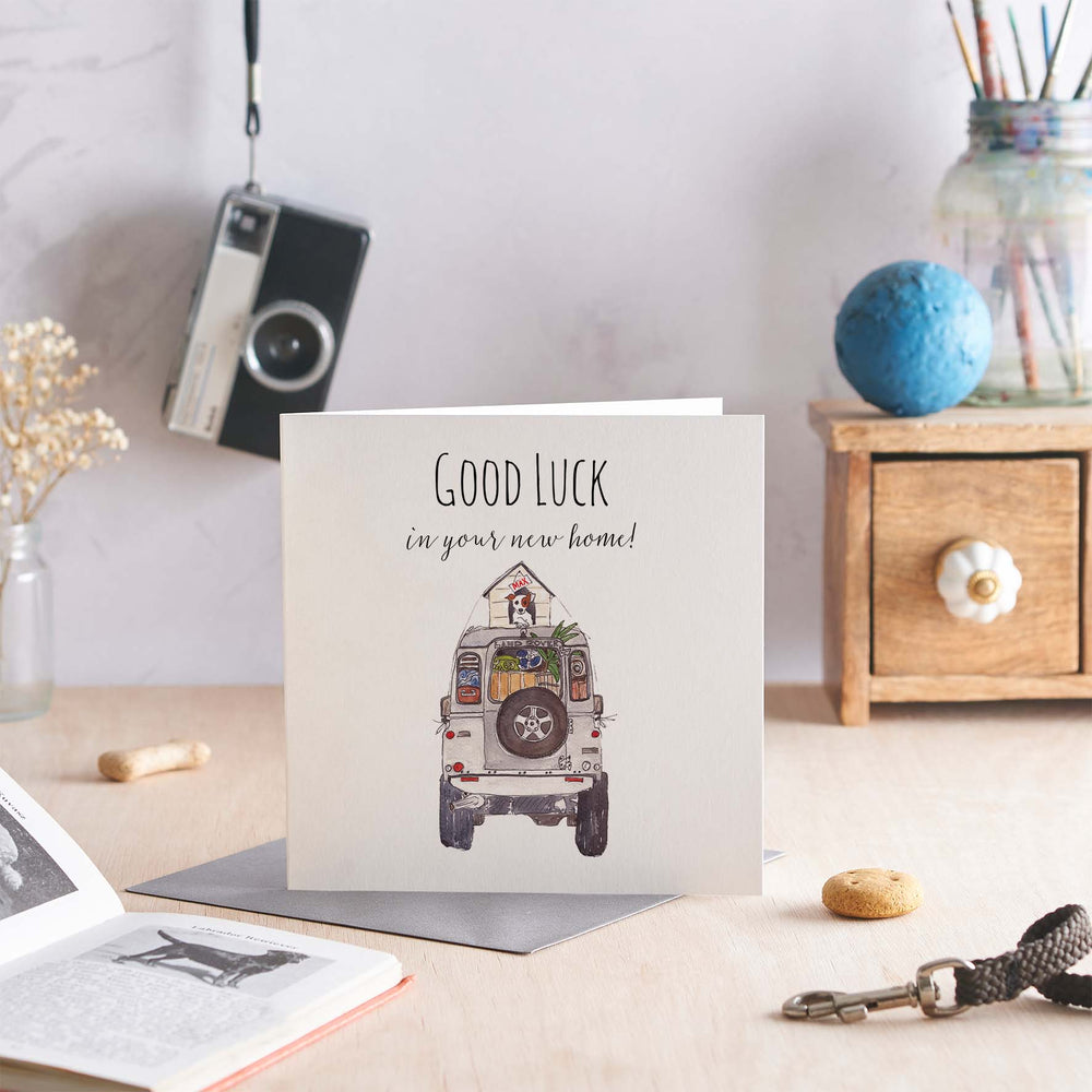 Good Luck in your New Home - Greeting Card