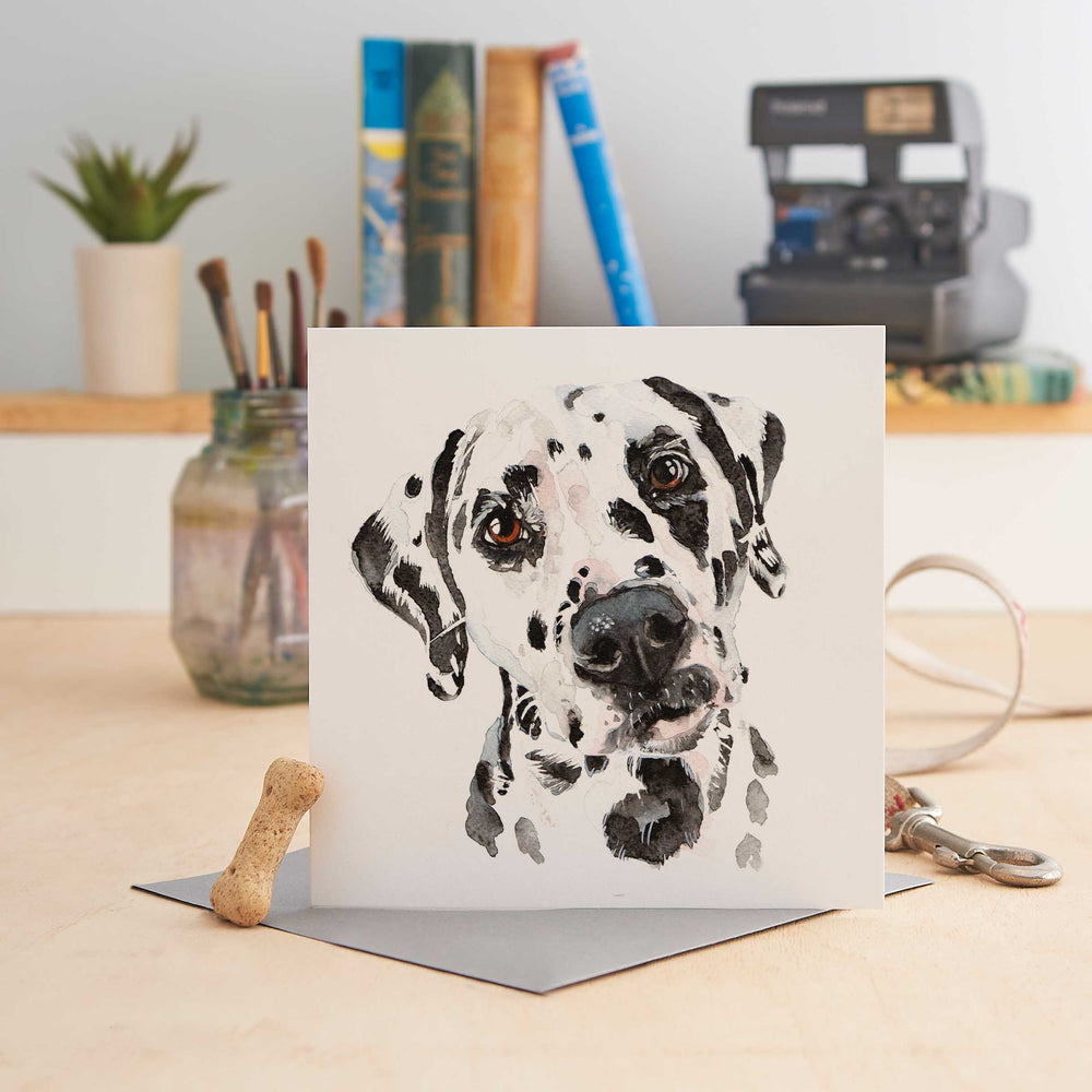 Load image into Gallery viewer, Dalmatian - Greeting Card
