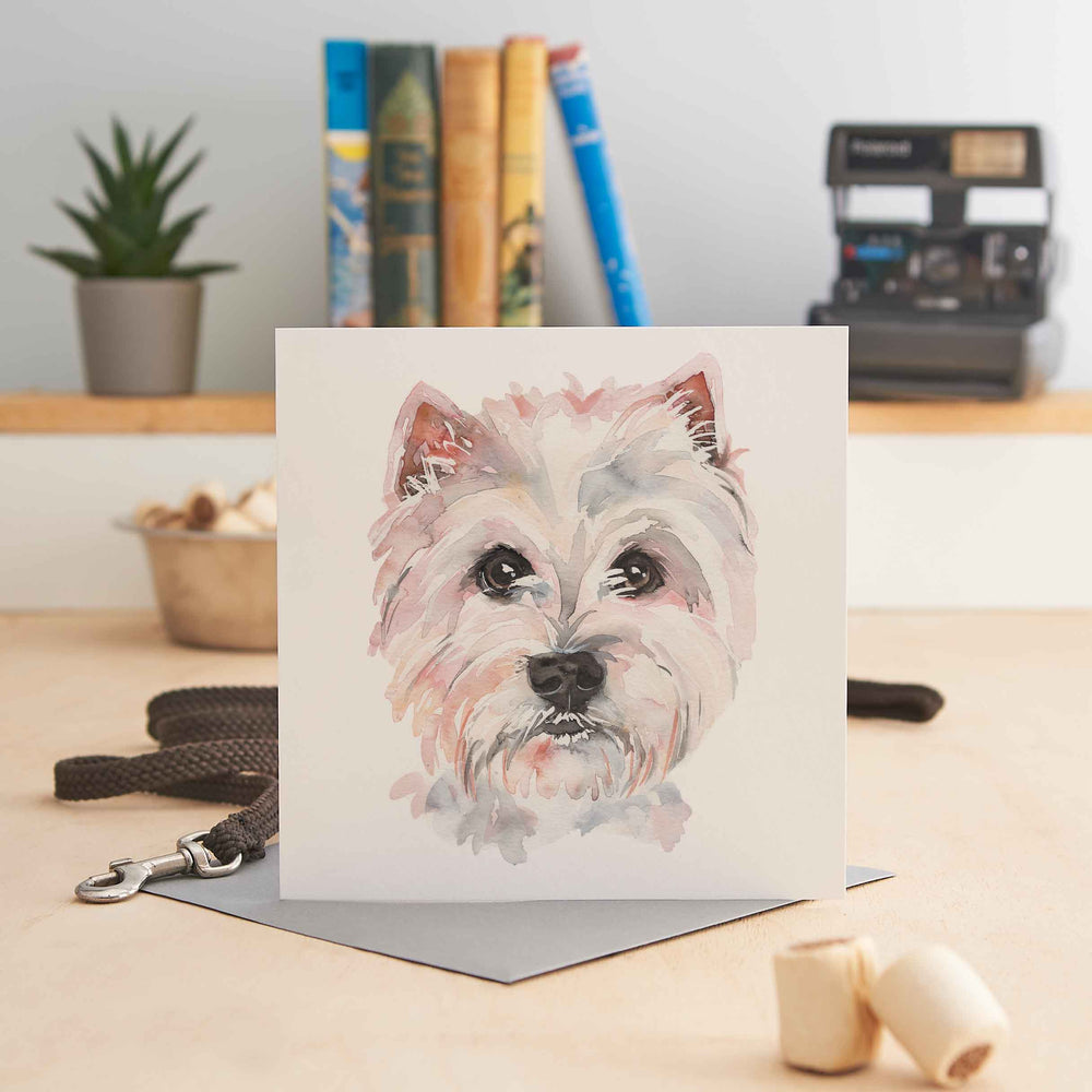 West Highland Terrier - Greeting Card