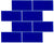 "Caribbean Blue 3"" x 6"" Subway Tile"