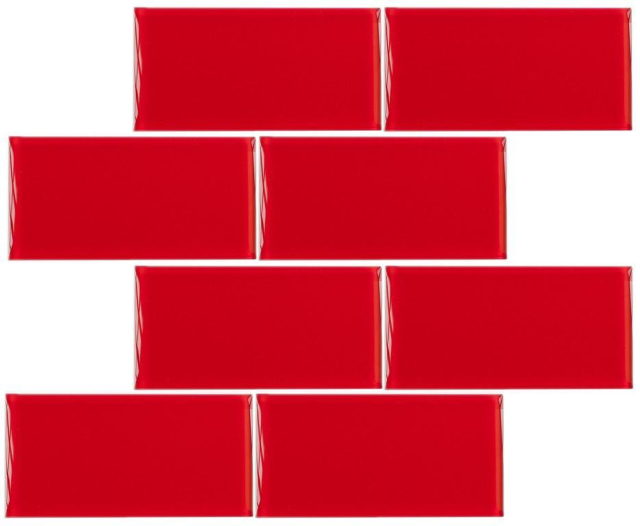 "Cardinal 3"" x 6"" Subway Tile"