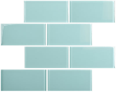 "Marine Mist 3"" x 6"" Subway Tile"