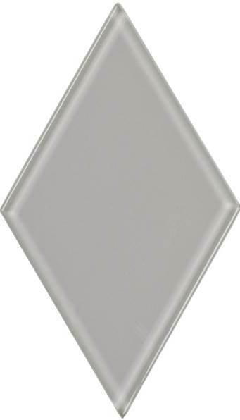 "4.5"" Whisper Gray Diamond Tile"
