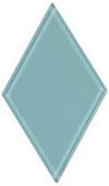 "4.5"" Sky Blue Diamond Tile"