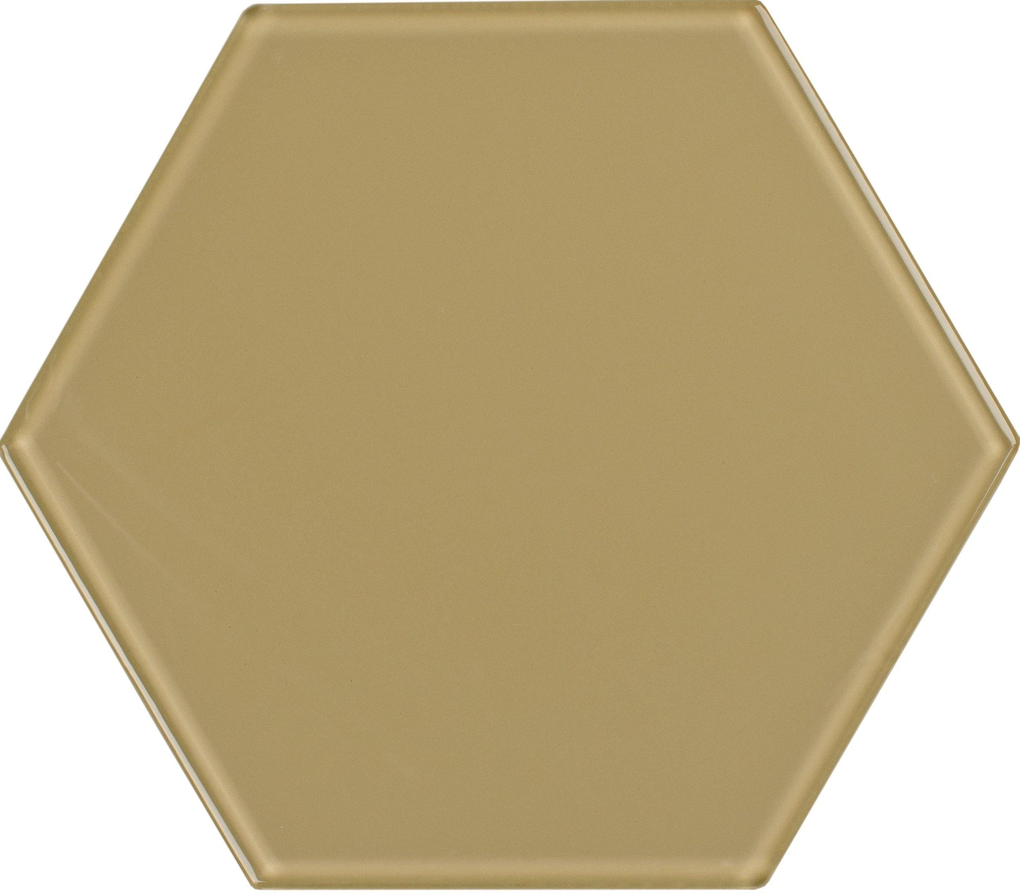 "8"" Sand Dollar Hexagon Tile"