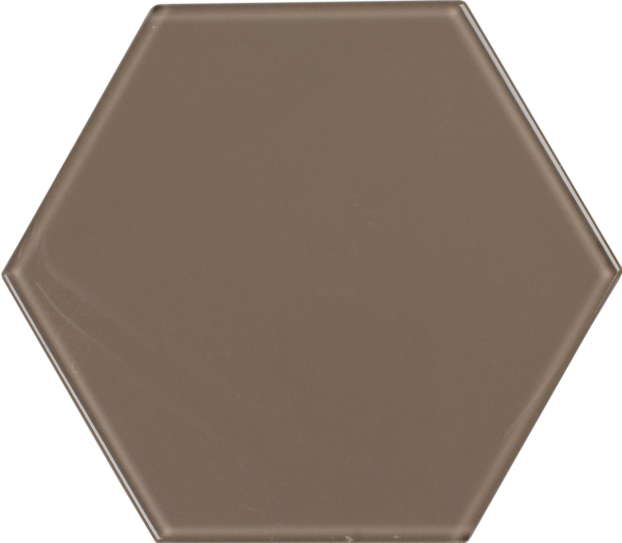 "8"" Gravel Hexagon Tile"