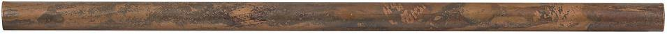 "Antique Copper 1/2"" x 12"" Bullnose Liner"