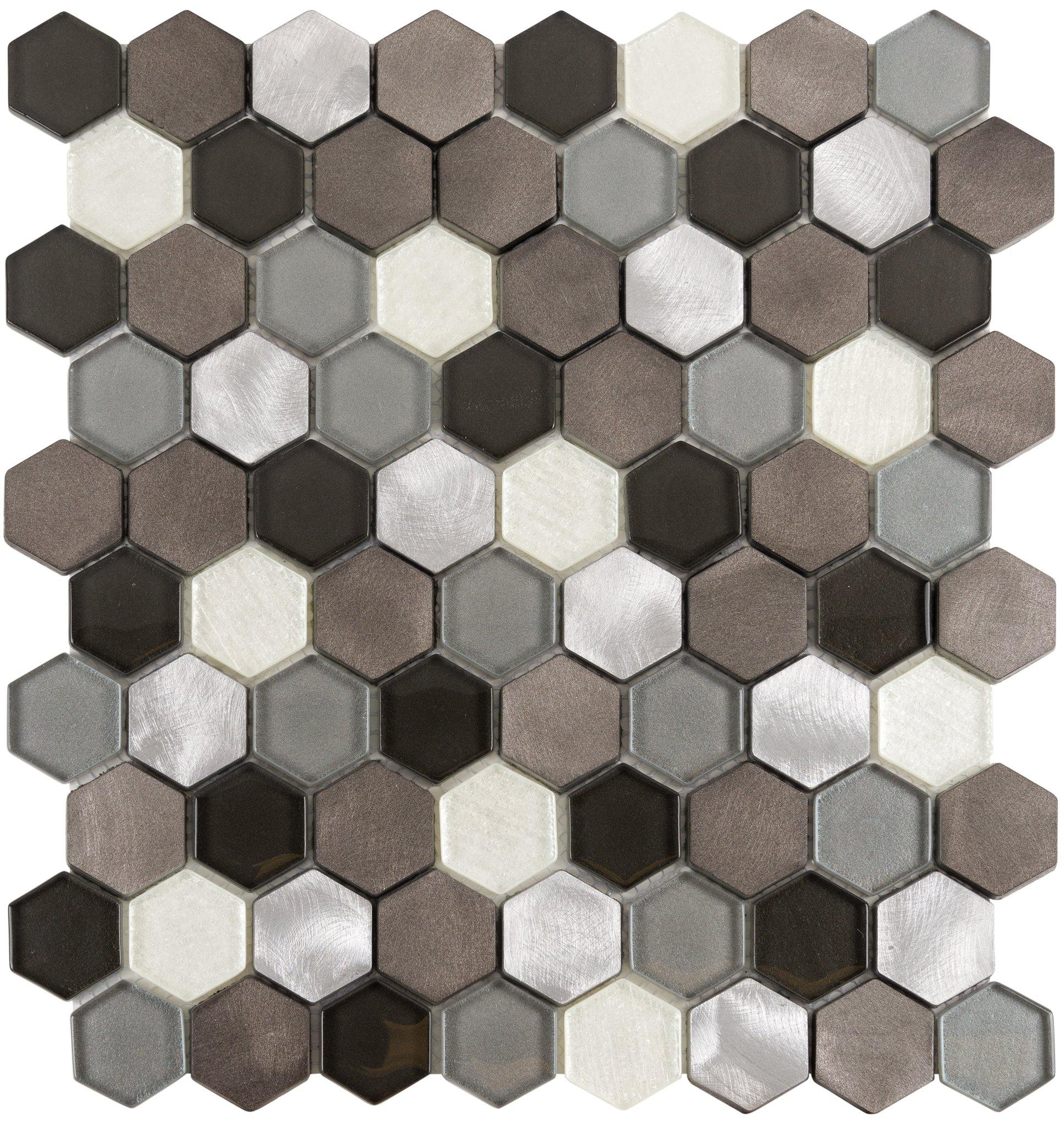 Pisces Hexagon Mosaic