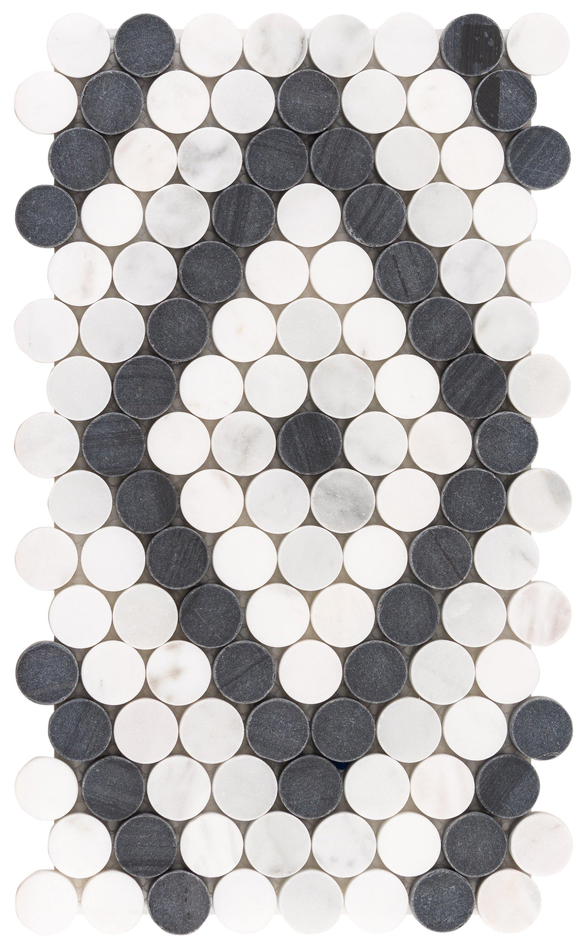 Black n White Diamonde Mosaic