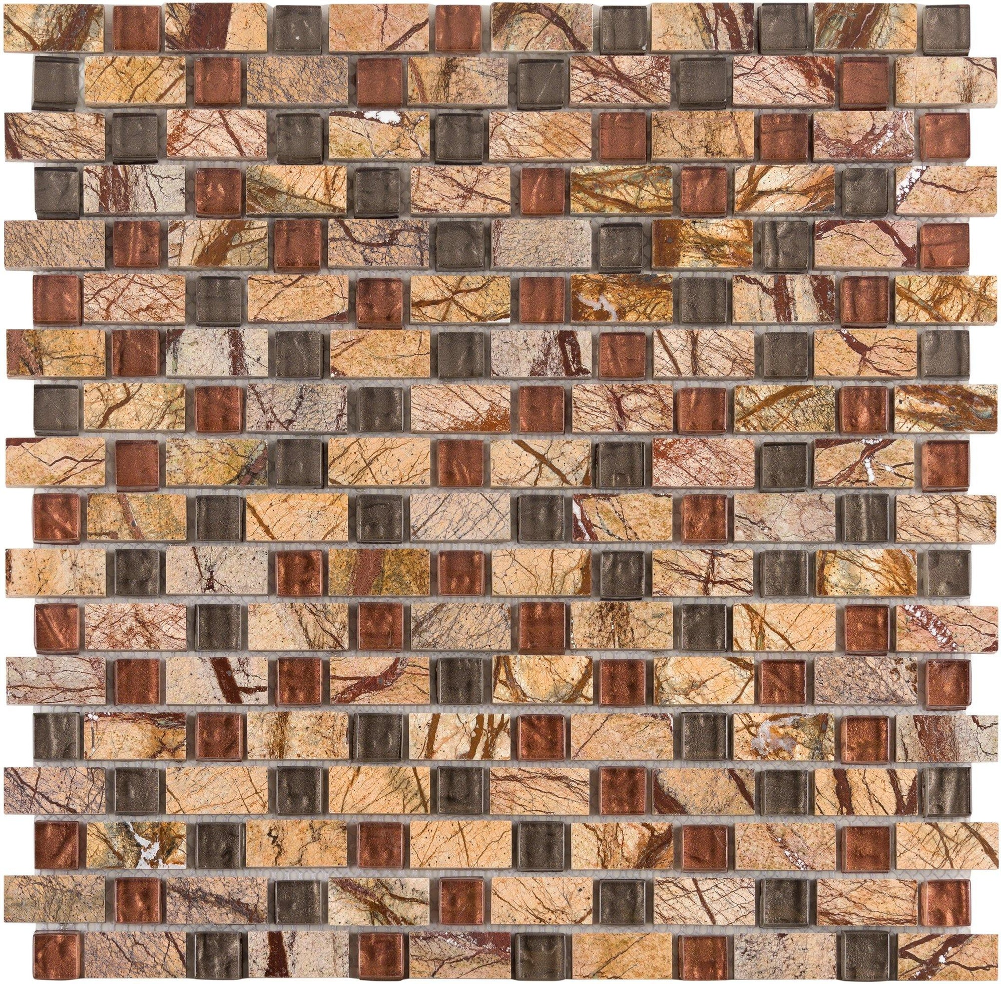 "Sonoran Trail 5/8"" Combo Mosaic"