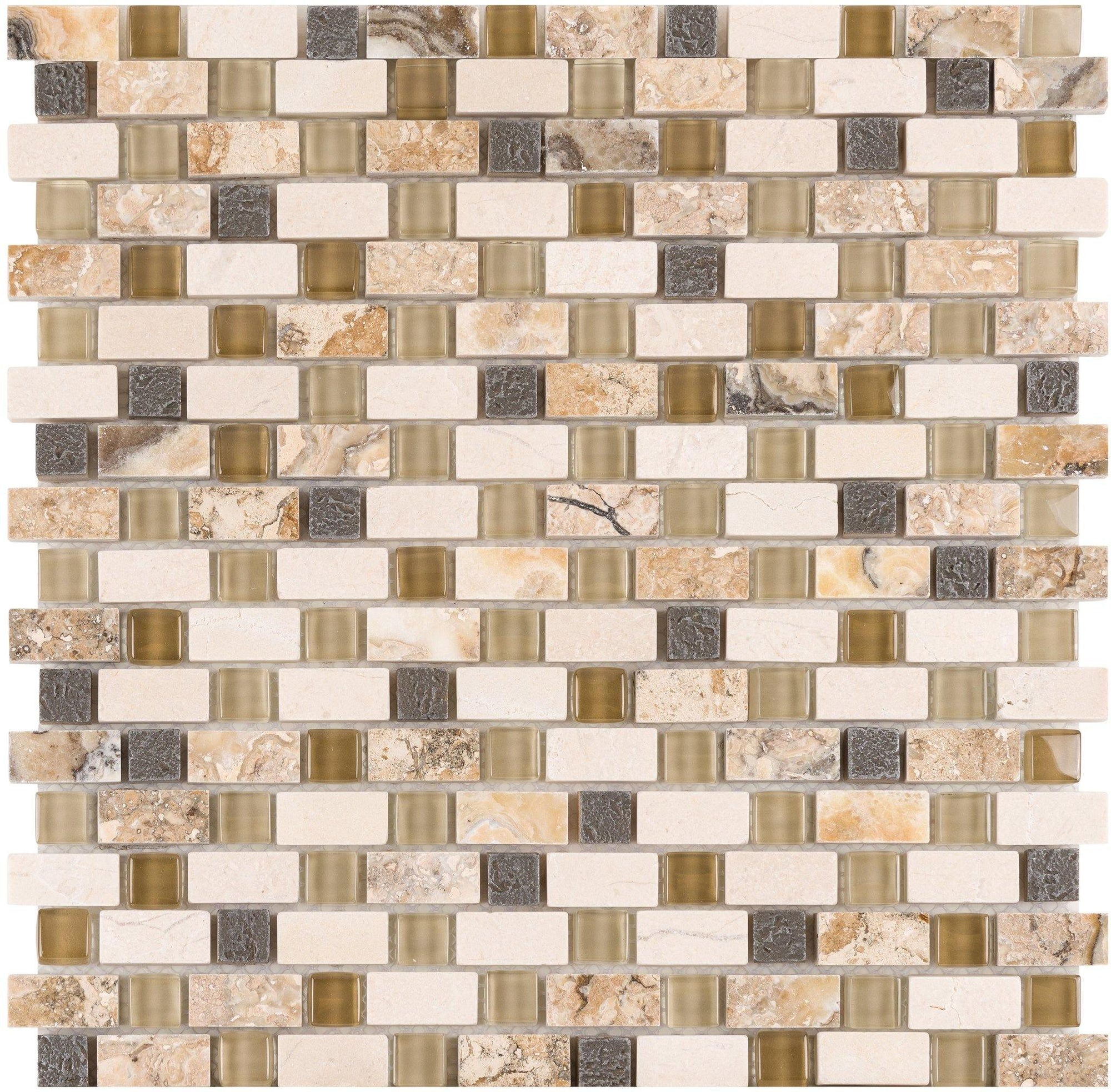 "Pewter Dream 5/8"" Combo Mosaic"