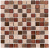 "Copper Canyon 1"" x 1"" Mosaic"