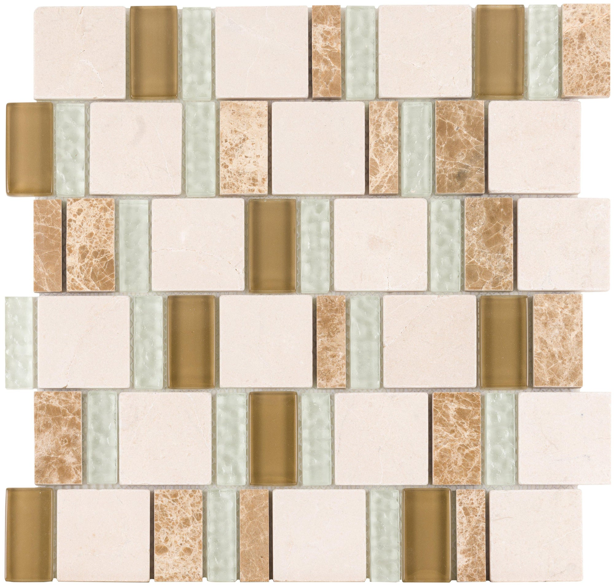 Classic Tiffany 2By Combo Mosaic