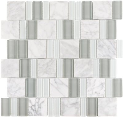 White Fossil 2By Combo Mosaic