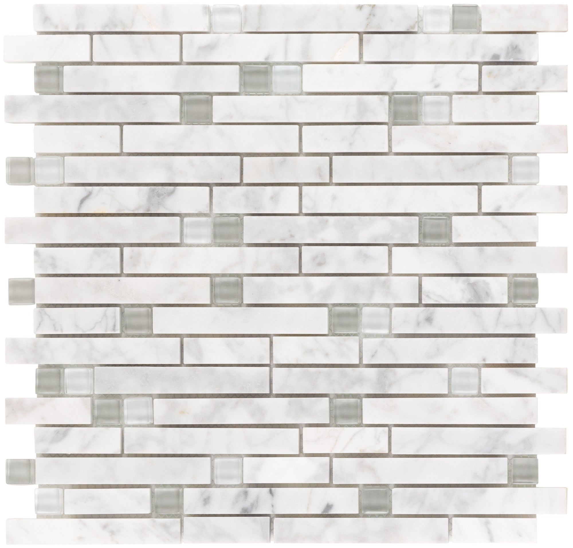 White Fossil Linear Mosaic