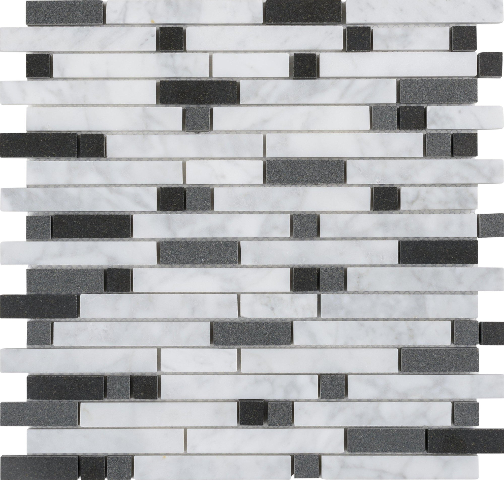 Black n White Linear Mosaic