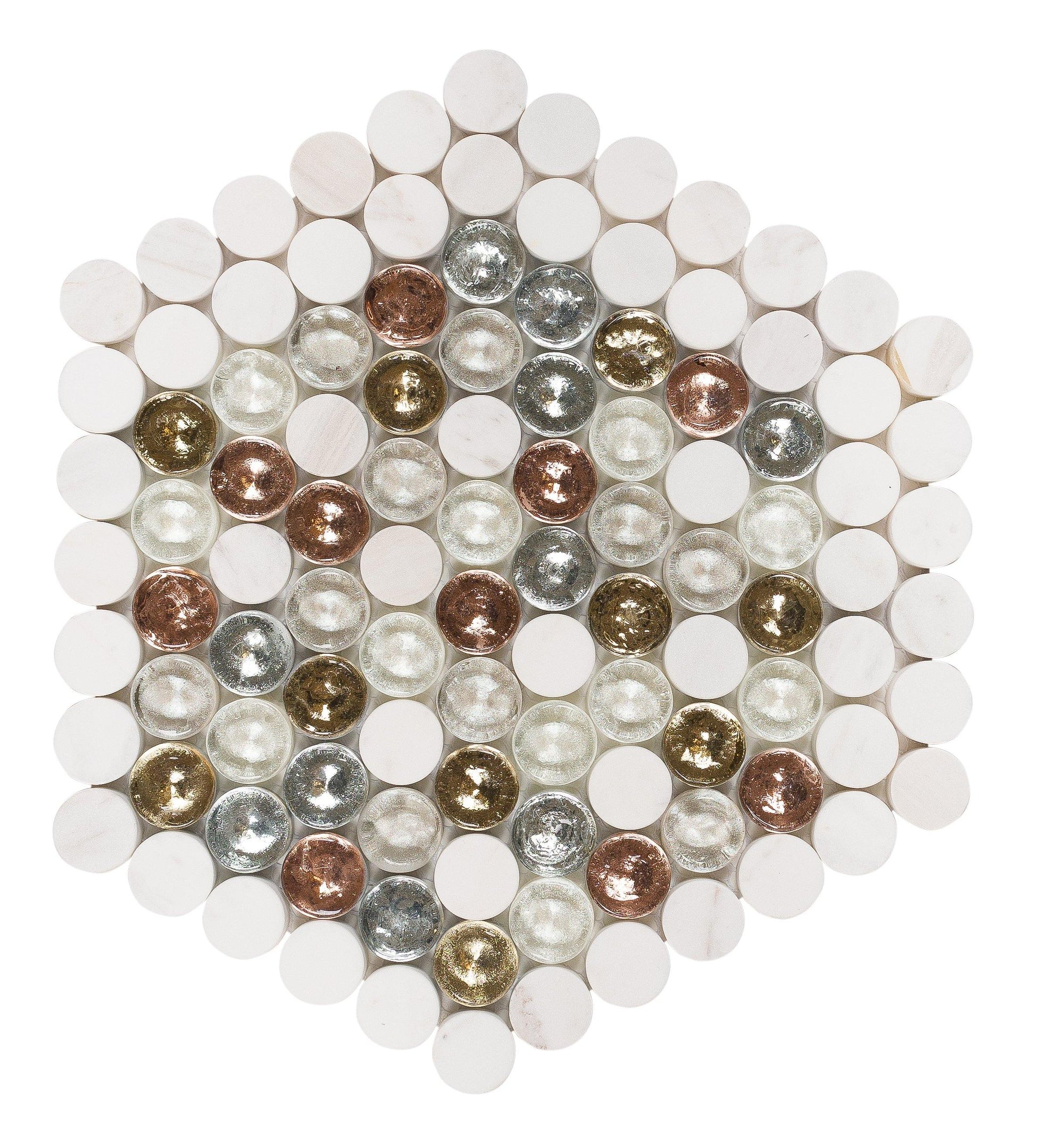 Borden Designer Hexagon Mosaic
