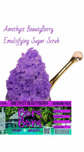 Amethyst Heart Infused BeautyBerry Sugar Hand Scrub