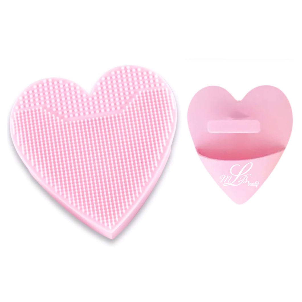 Heart Shape Silicone Hand Scrubber