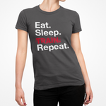 Eat Sleep Train Repeat T-Shirt - Fistbump