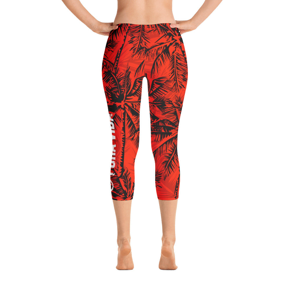 Pura Vida Womens Capri Leggings