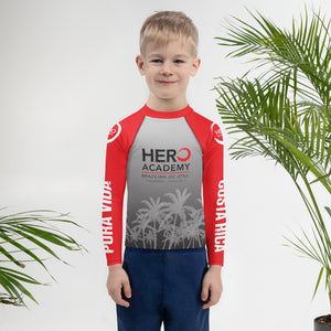 Hero Kids Rash Guard