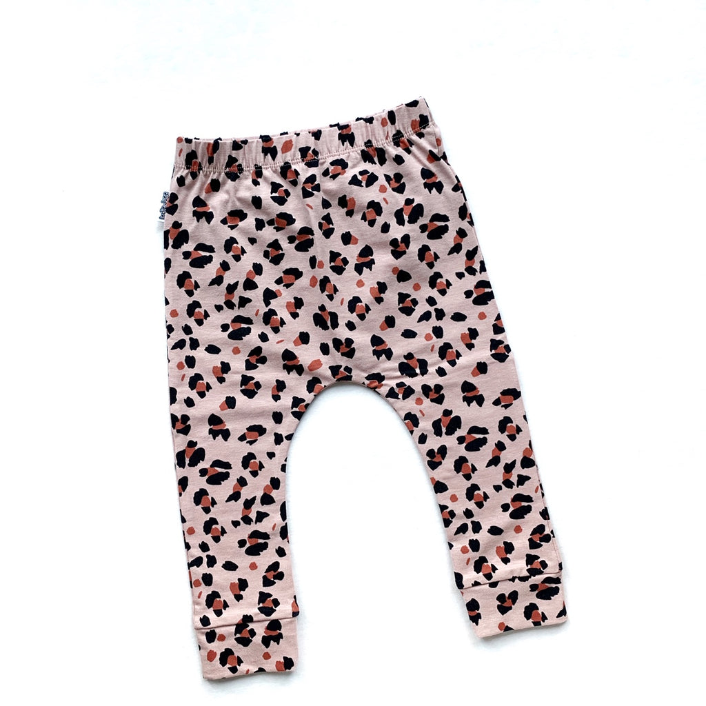 Pink Lynx Dots Leggings