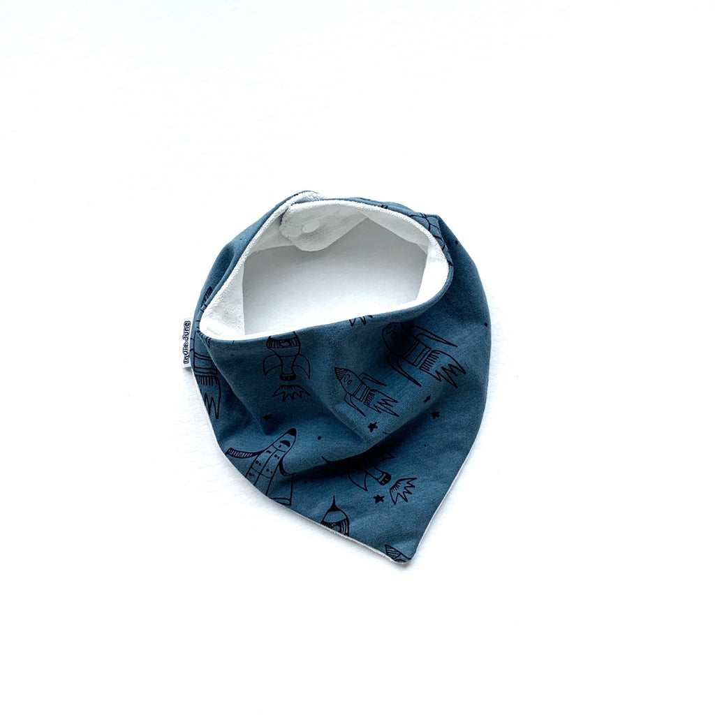 Blue Rocket Bib