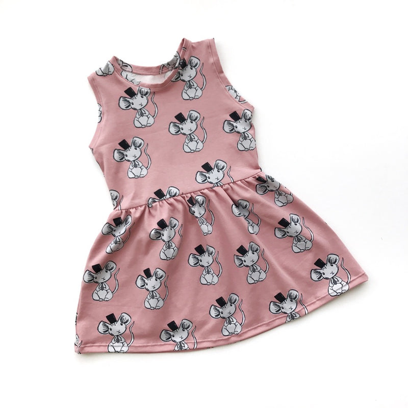 Pink Mouse Dress