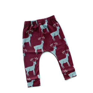 Red Reindeer Leggings