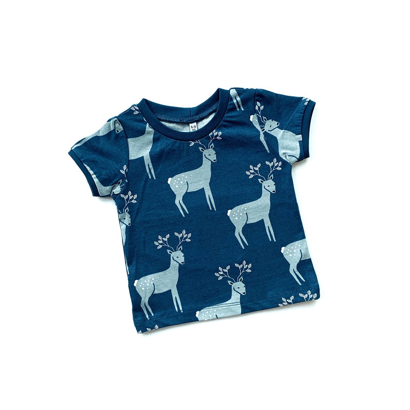 Blue Reindeer T-shirt