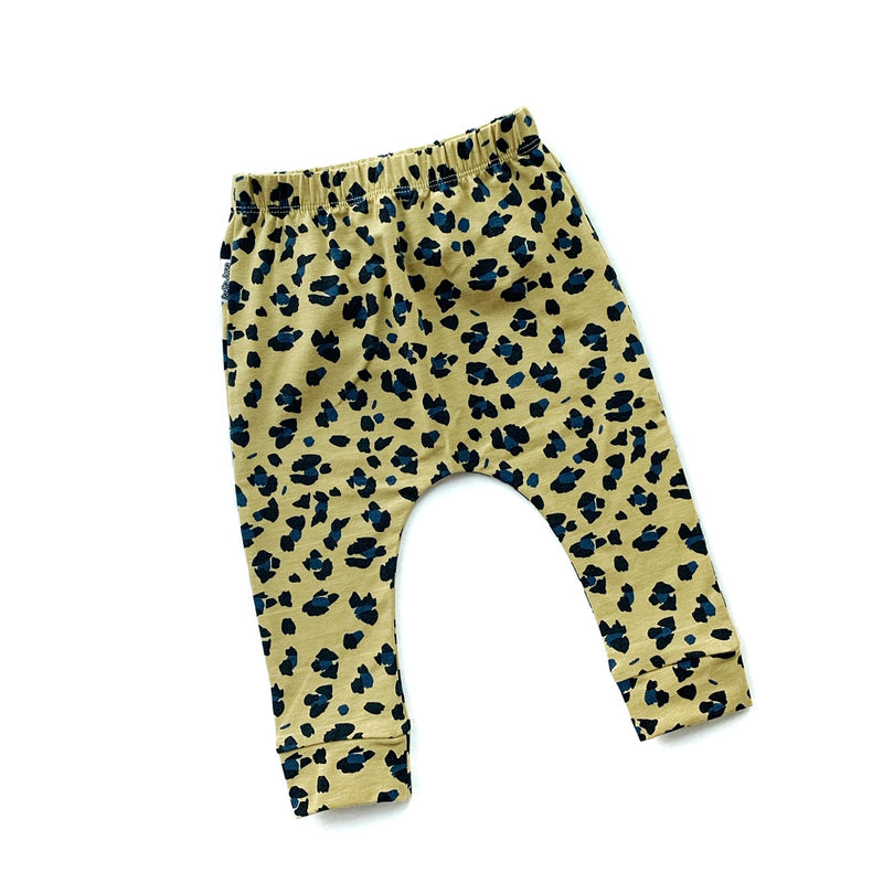 Mustard Lynx Dots Leggings