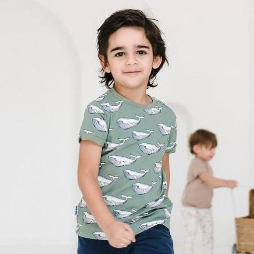 Olive Whale T-shirt