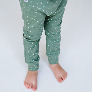 Olive Spots Leggings