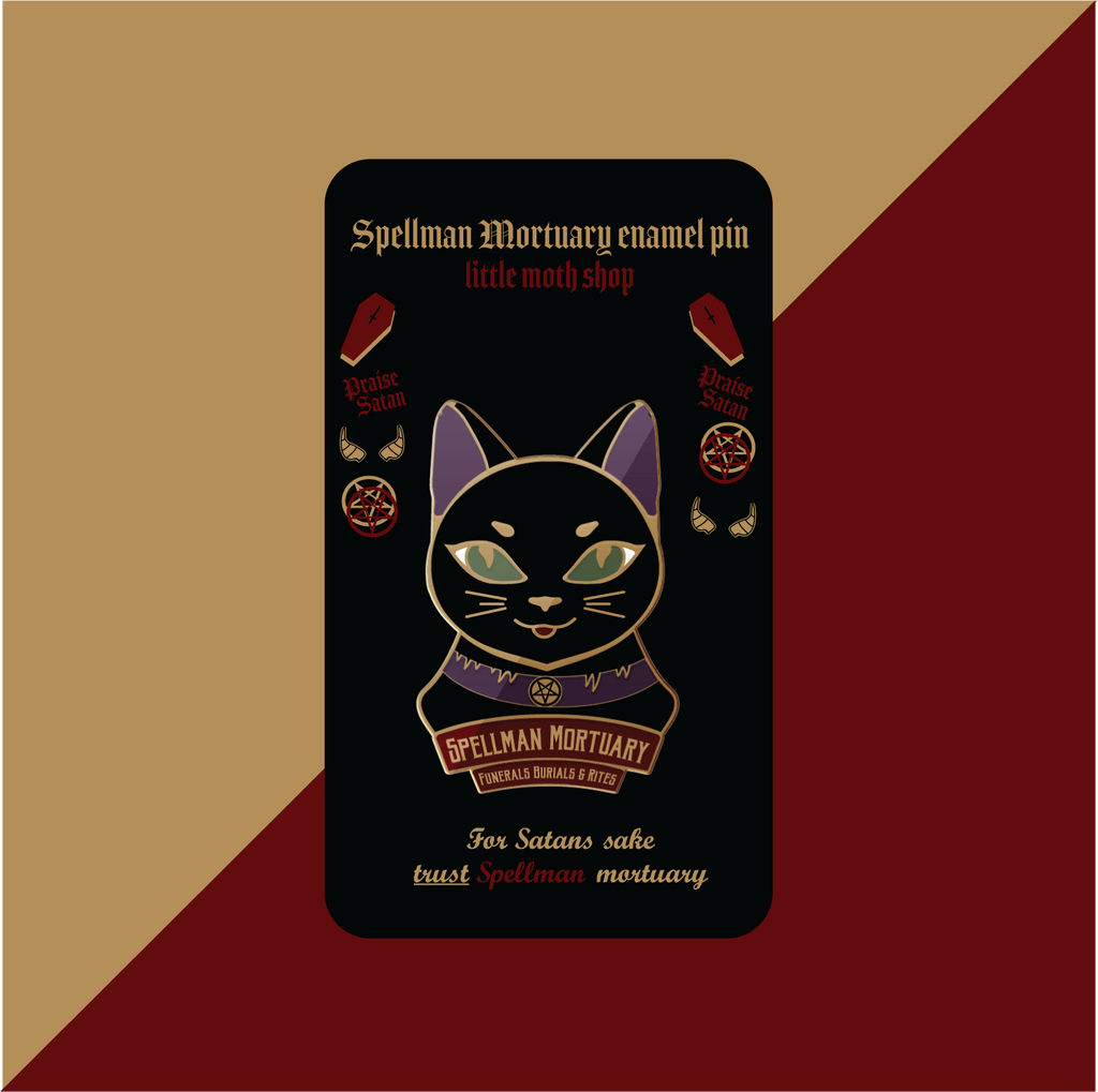 Chilling Adventures of Sabrina Spellman Mortuary Pin