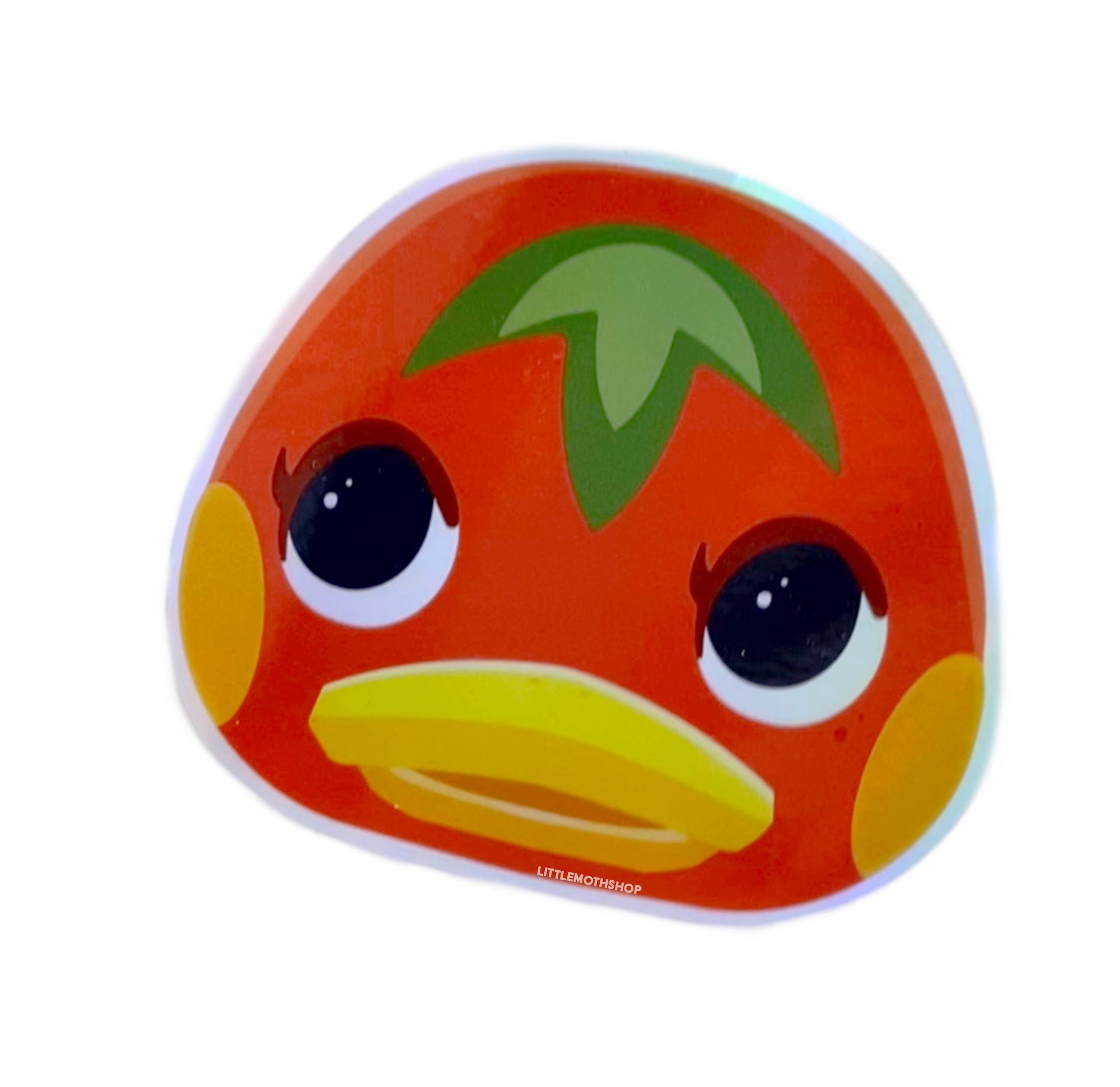 Ketchup Animal Crossing Holographic Sticker