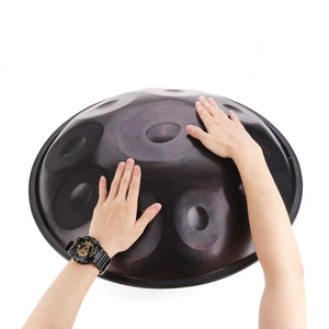 Hang F major/D minor 9 Notes Musical Hand Drum Professional Handpan Durable Carbon Steel Drum