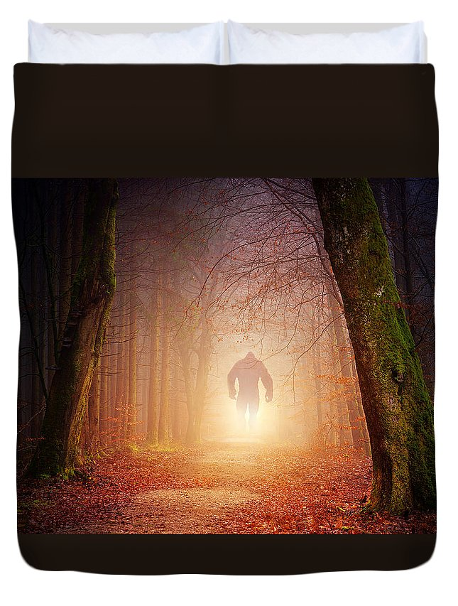 KING OF THE WOODS - Duvet Cover