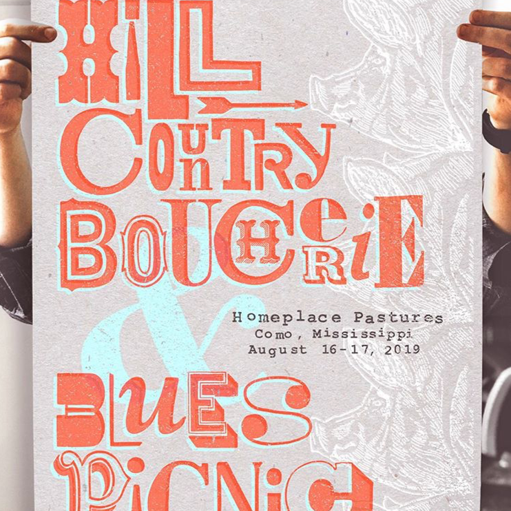 Hill Country Boucherie Poster 2019