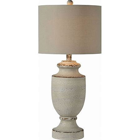 Barb Gray Wash Table Lamp