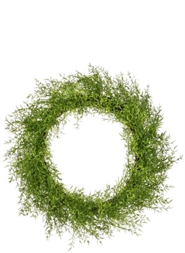 Feather Fern Wreath