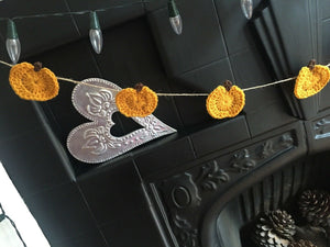 Autumn Halloween Cute Pumpkin Bunting