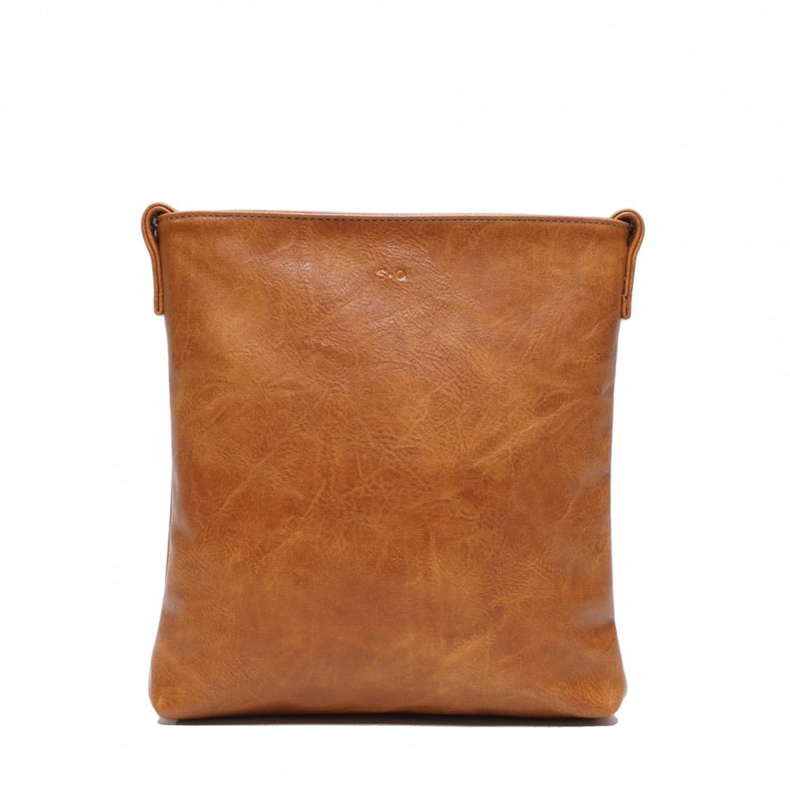 SQ Vegan Ivana Crossbody - Camel