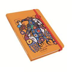 "Oscardo - Norval Morrisseau - Journal - ""Man Changing Into Thunderbird"""