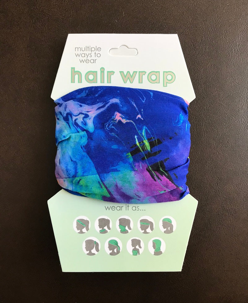 Hair Wrap - Swirls