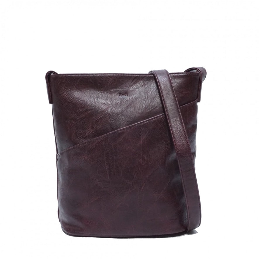 SQ Vegan Martha Hobo - Purple