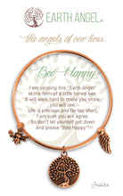 "Load image into Gallery viewer, Earth Angel Bracelet - ""Bee Happy"""