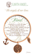 "Load image into Gallery viewer, Earth Angel Bracelet - ""Friend"""