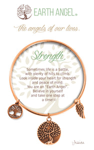 "Earth Angel Bracelet - ""Strength"""