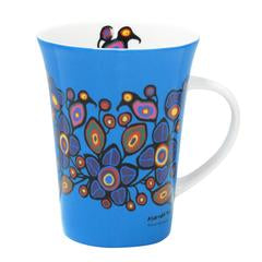 "Oscardo - Norval Morrisseau - Mug - ""Flowers and Birds"""